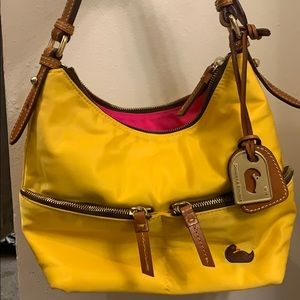 Yellow Dooney and Bourke